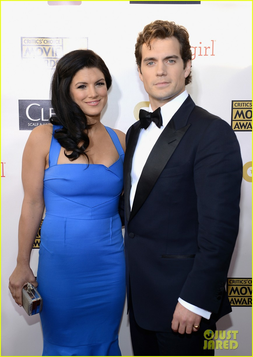 henry cavill gina carano new couple at critics choice awards 03