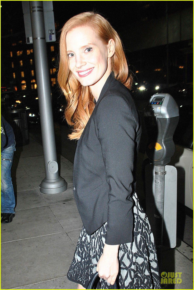 jessica chastain mr chow dinner 022800503