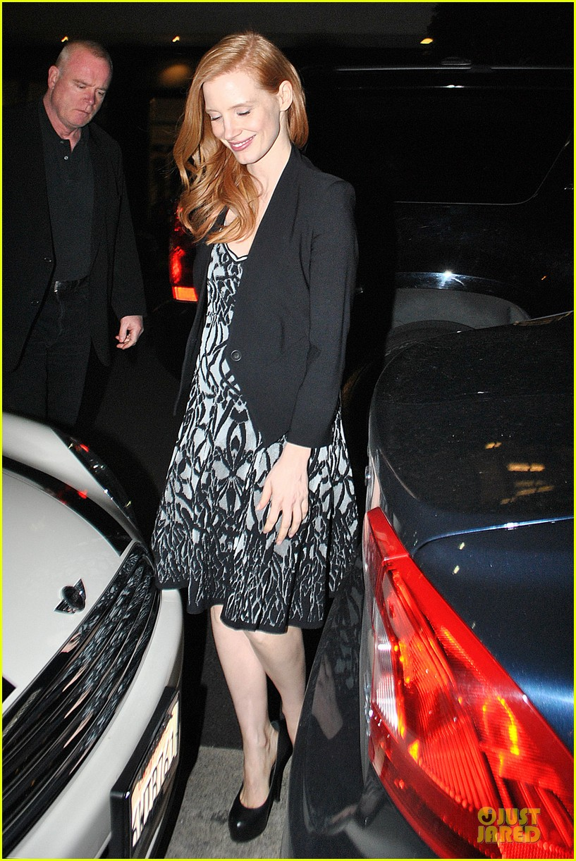 jessica chastain mr chow dinner 032800504