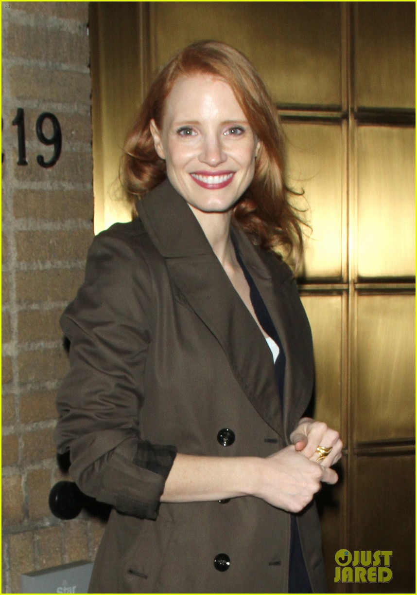 jessica chastain my first big purchase was couch 10