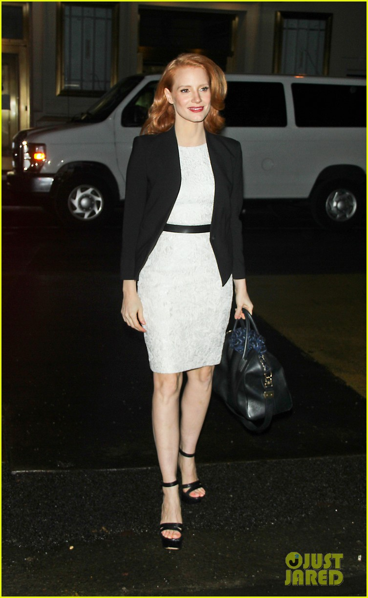 jessica chastain daily show appearance 142793460