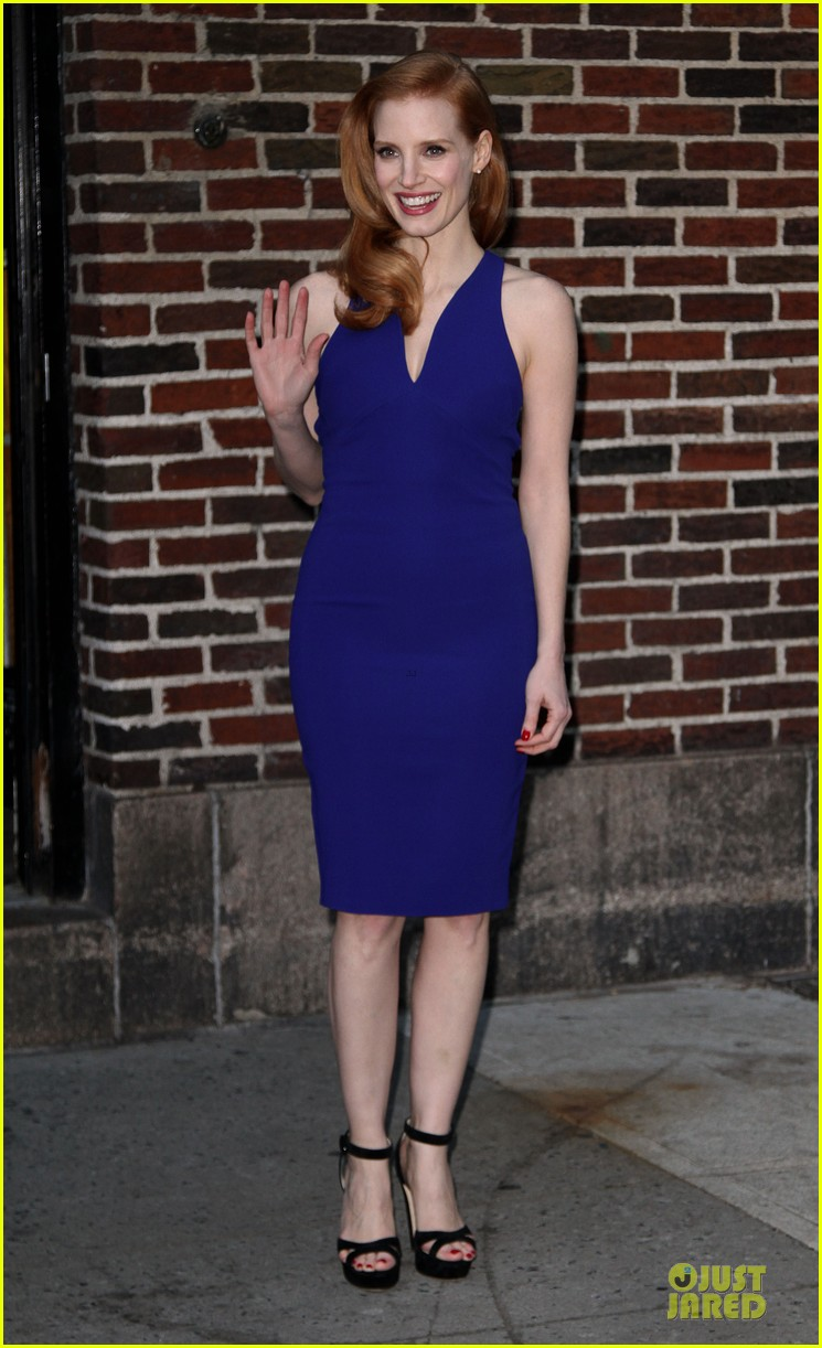 jessica chastain mama new york screening 07