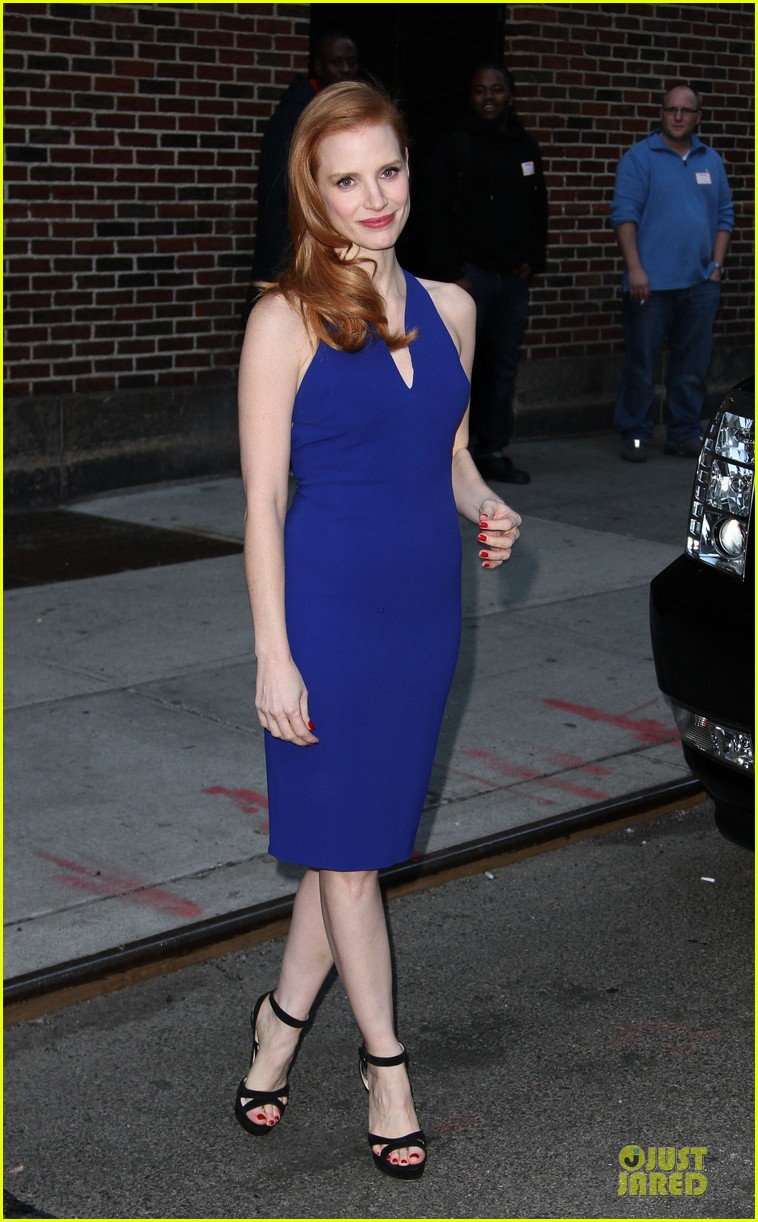 jessica chastain mama new york screening 10