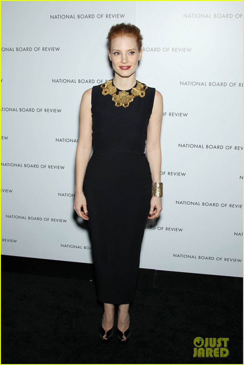 jessica chastain national board of review awards gala 2013 22