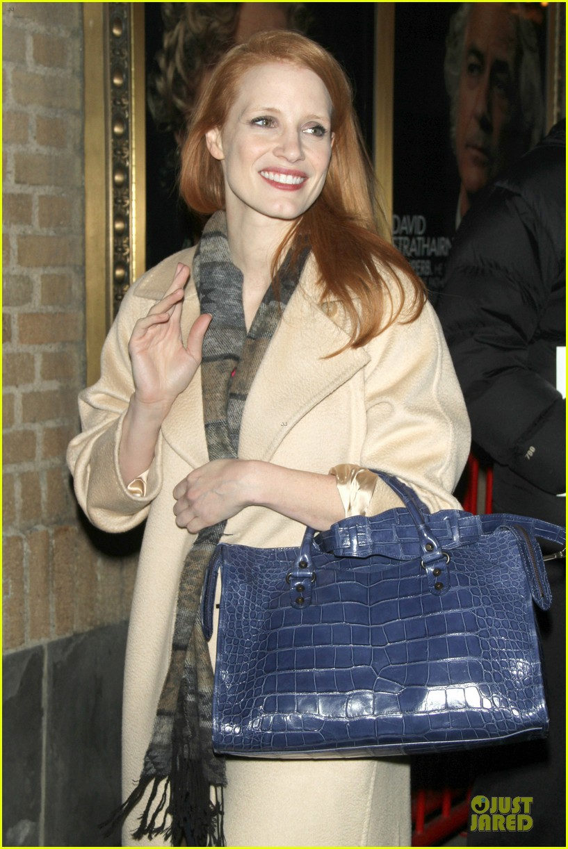 jessica chastain post golden globe win heiress performance 072792993