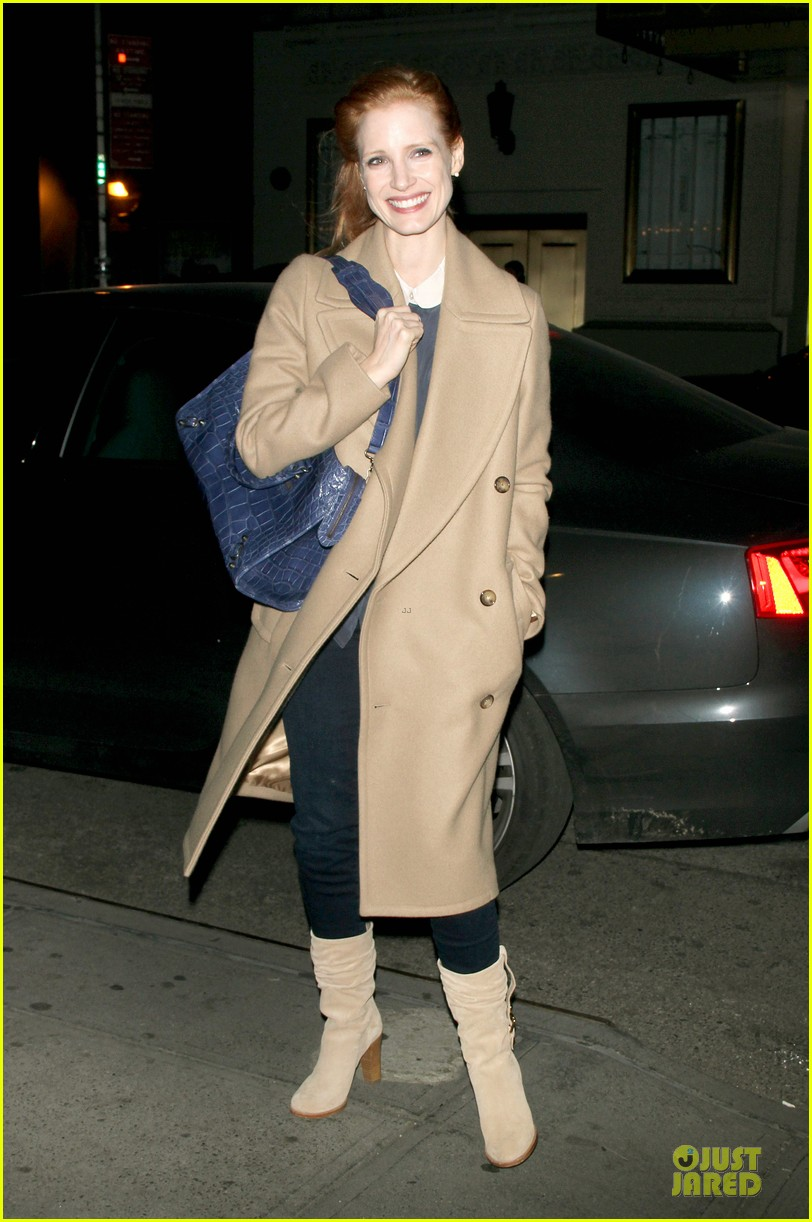jessica chastain late show with david letterman appearance next week 092785010