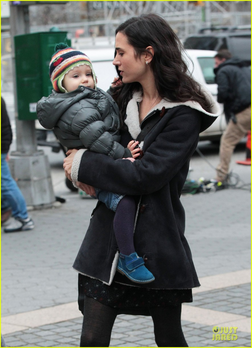 jennifer connelly agnes visits winters tale set 142792549