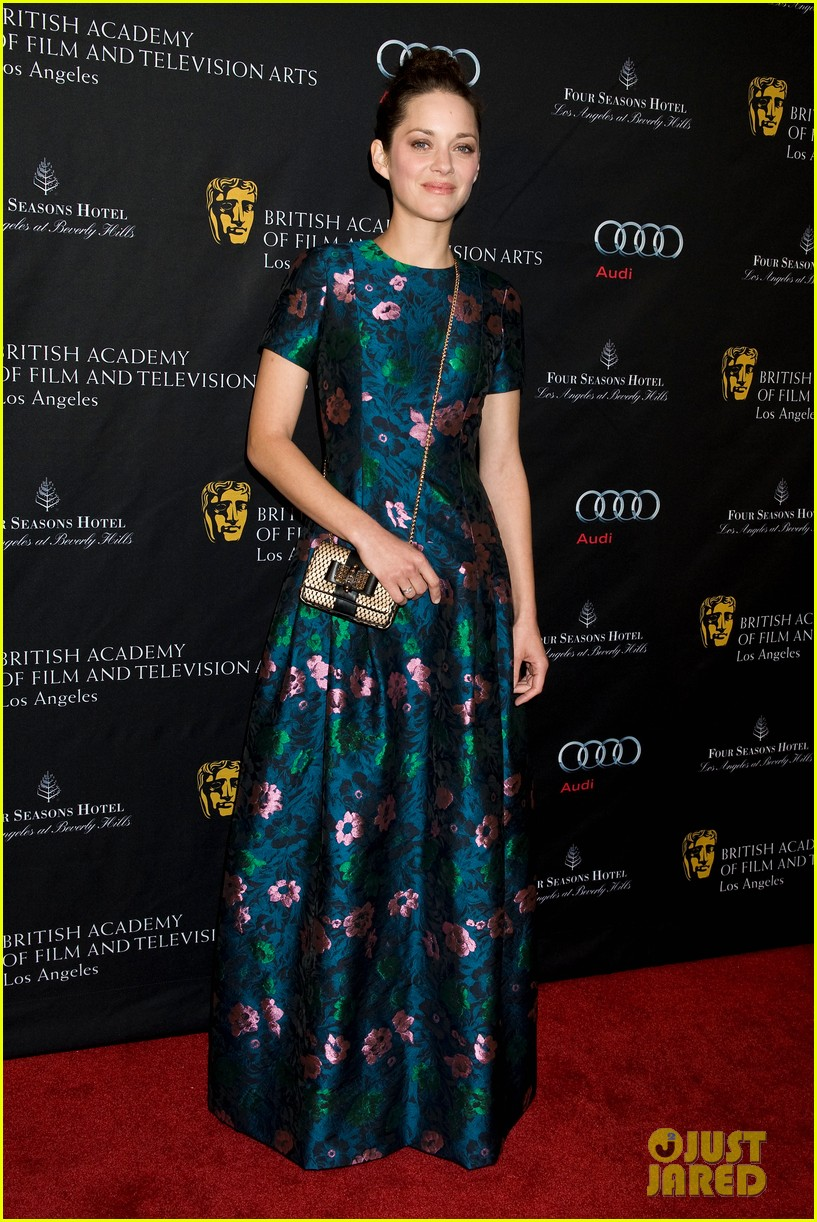 marion cotillard sienna miller bafta tea party 2013 04