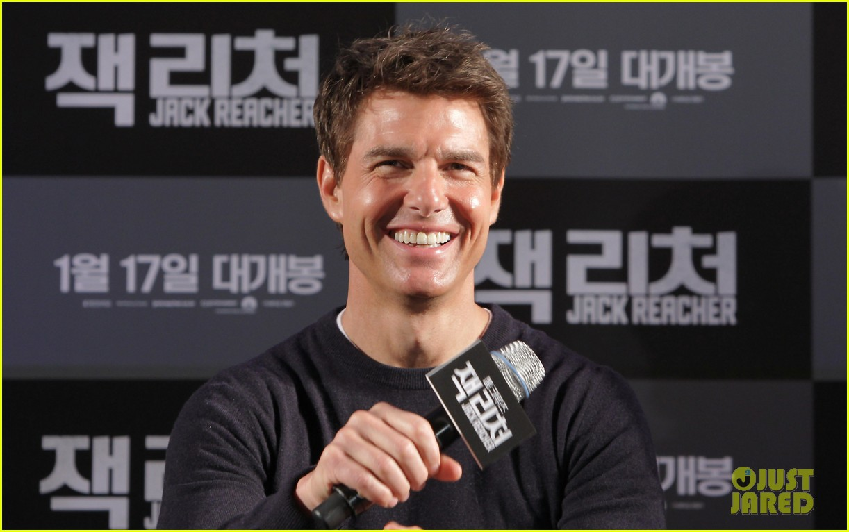 tom cruise rosamund pike jack reacher seoul photo call 192788114