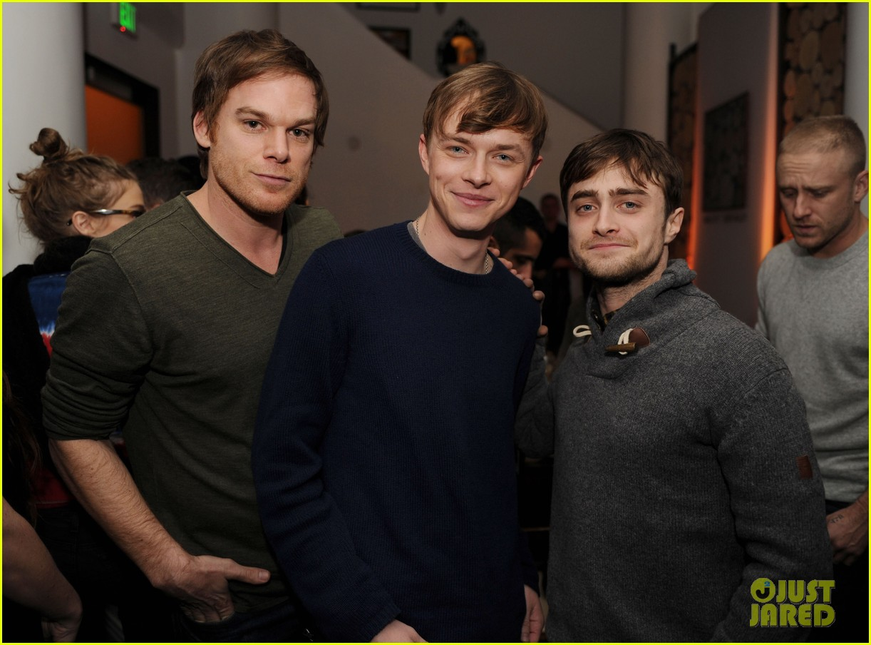 dane dehaan daniel radcliffe kill your darlings sundance dinner 012795513