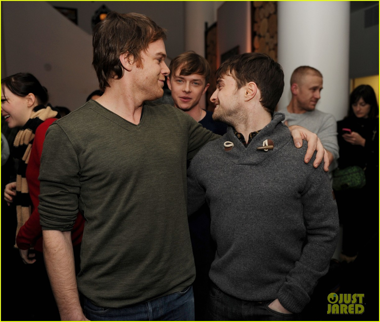 dane dehaan daniel radcliffe kill your darlings sundance dinner 02
