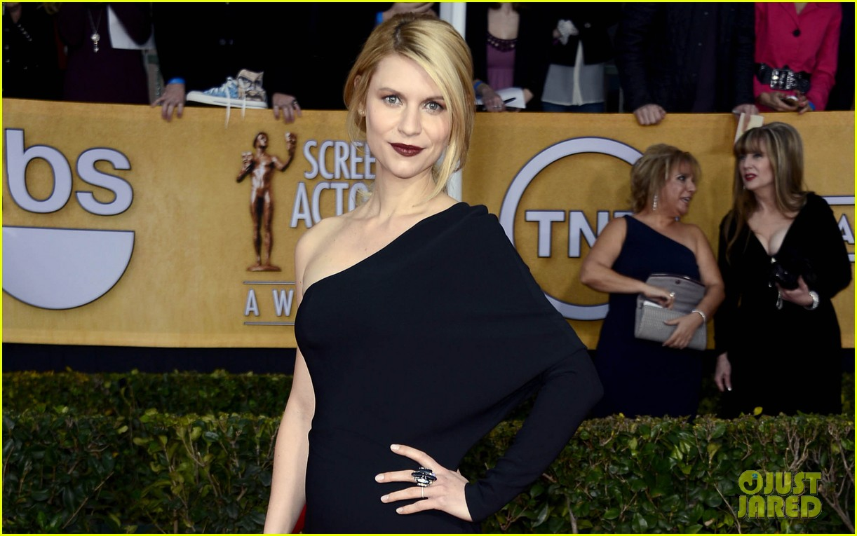 claire danes sag awards 2013 red carpet 02