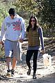pregnant jenna dewan channing tatum hiking with the dogs 15