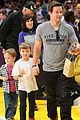 leonardo dicaprio lakers game night 08