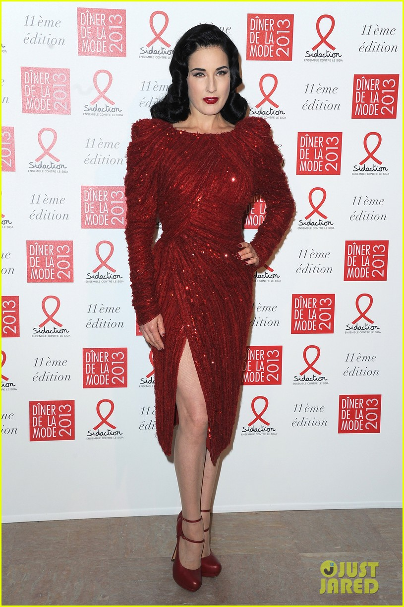 dita von teese hilary swank sidaction gala dinner 102798438
