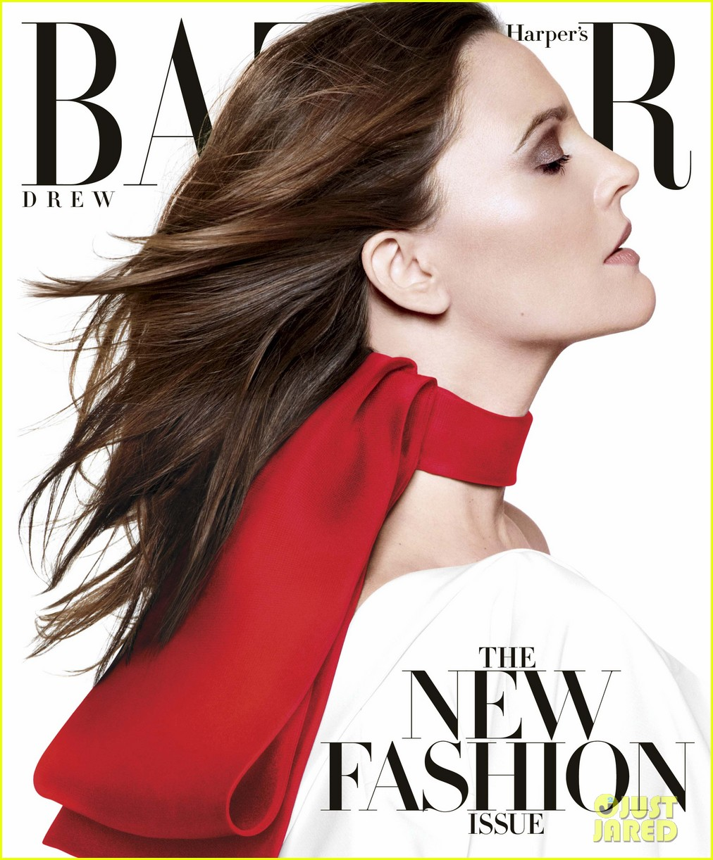 drew barrymore covers harpers bazaar march 2013 02