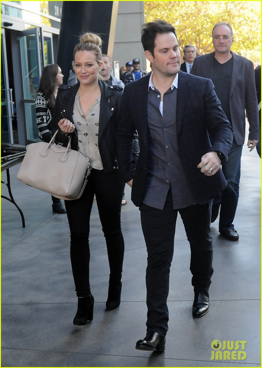 hilary duff mike comrie kings stanley cup celebration 182795930