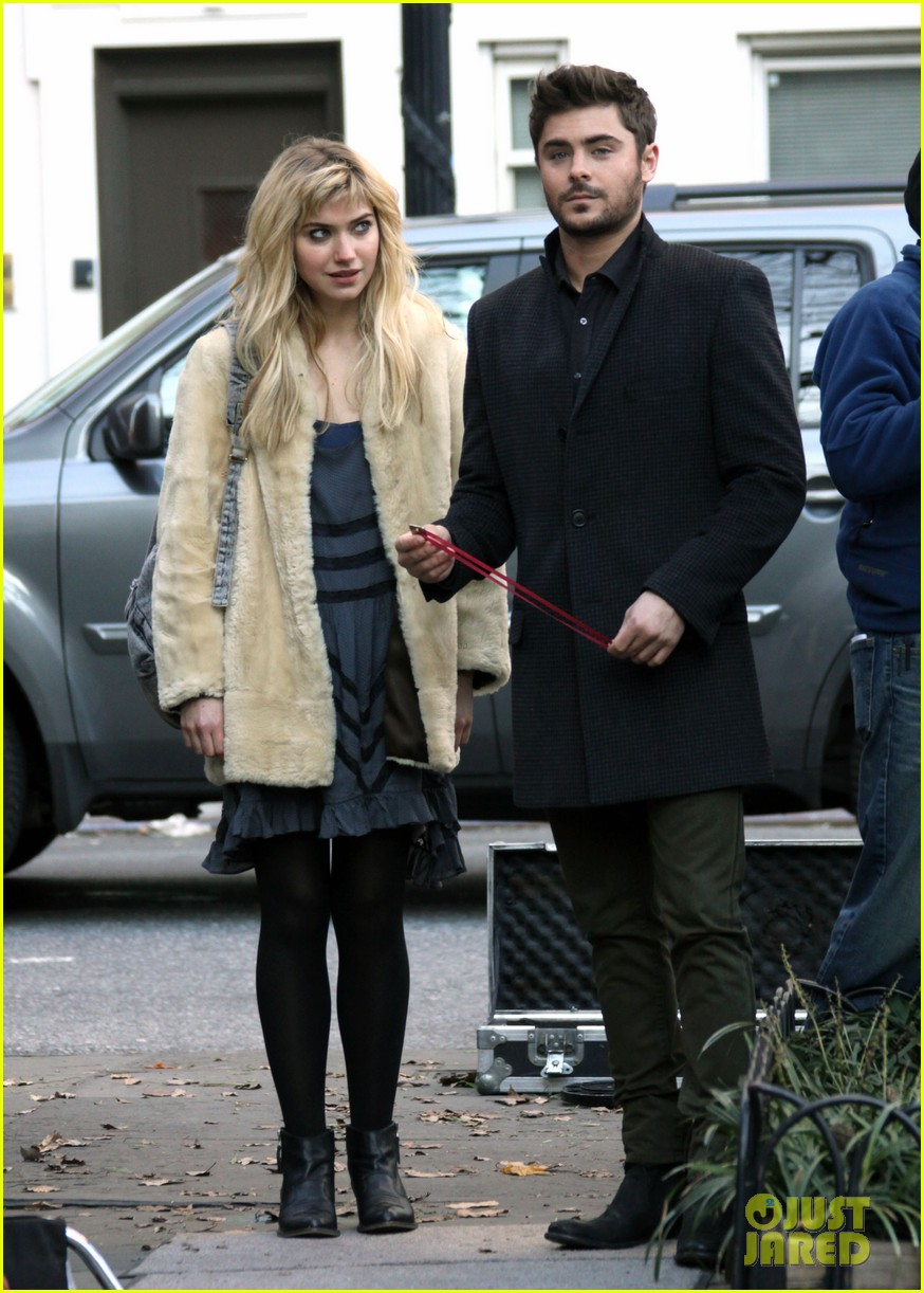 zac efron imogen poots kiss kiss for dating 05