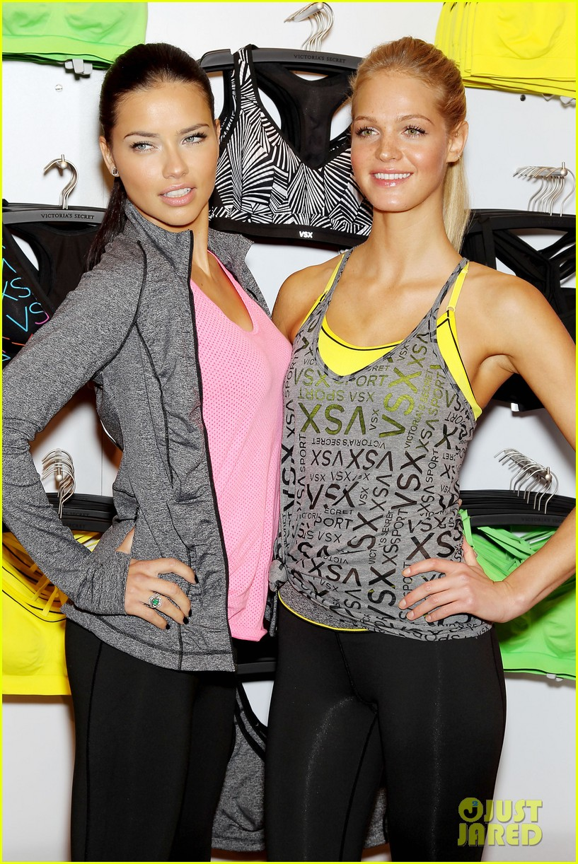 erin heatherton adriana lima victorias secret sport healthy year launch 07