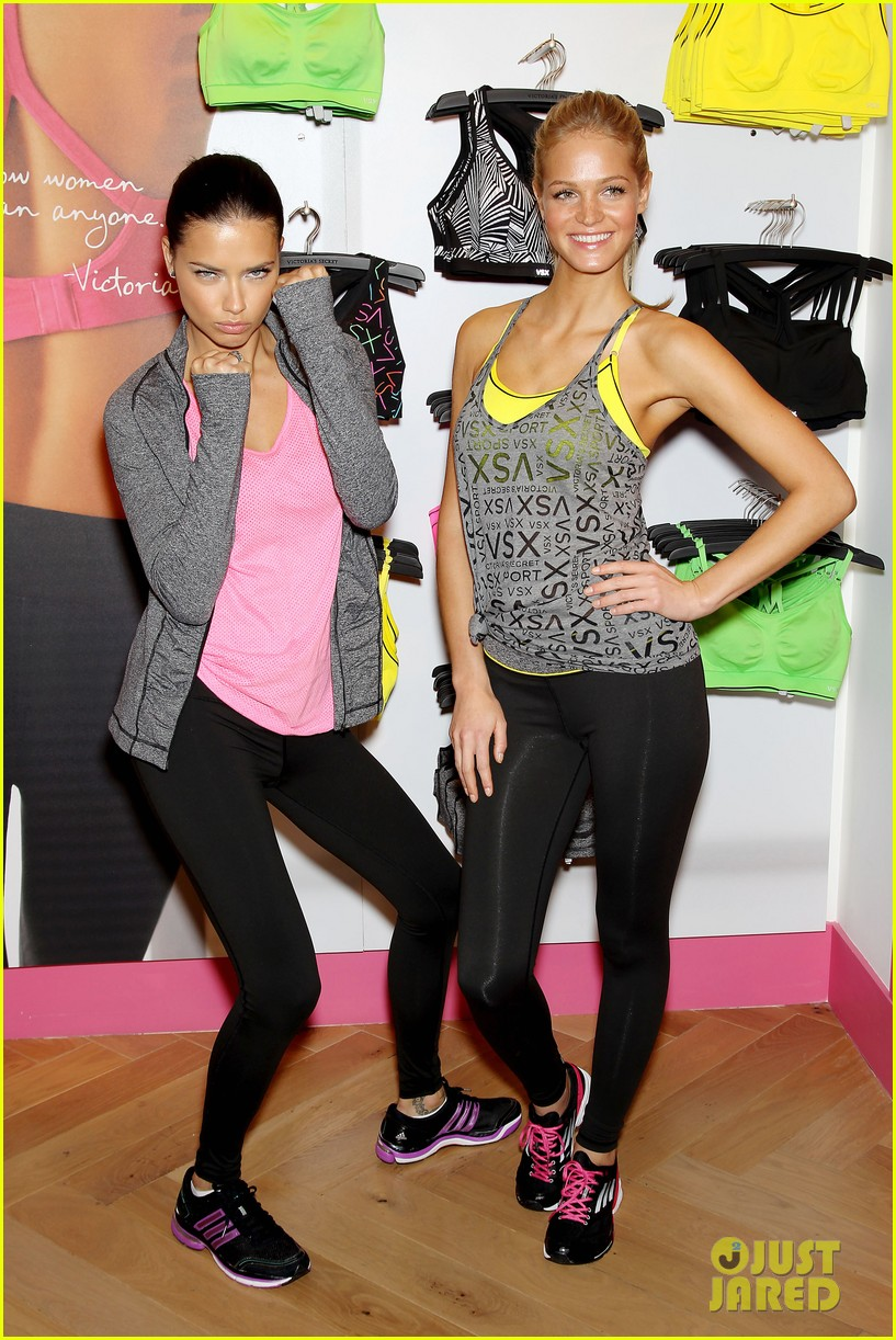 erin heatherton adriana lima victorias secret sport healthy year launch 162792741
