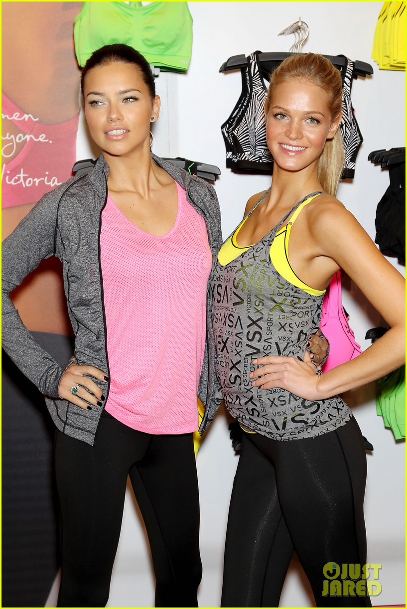 erin heatherton adriana lima victorias secret sport healthy year launch 19