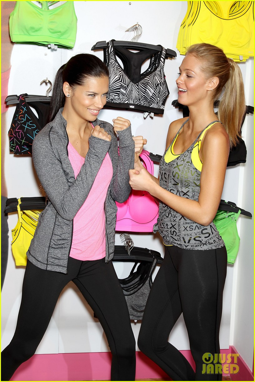 erin heatherton adriana lima victorias secret sport healthy year launch 222792747