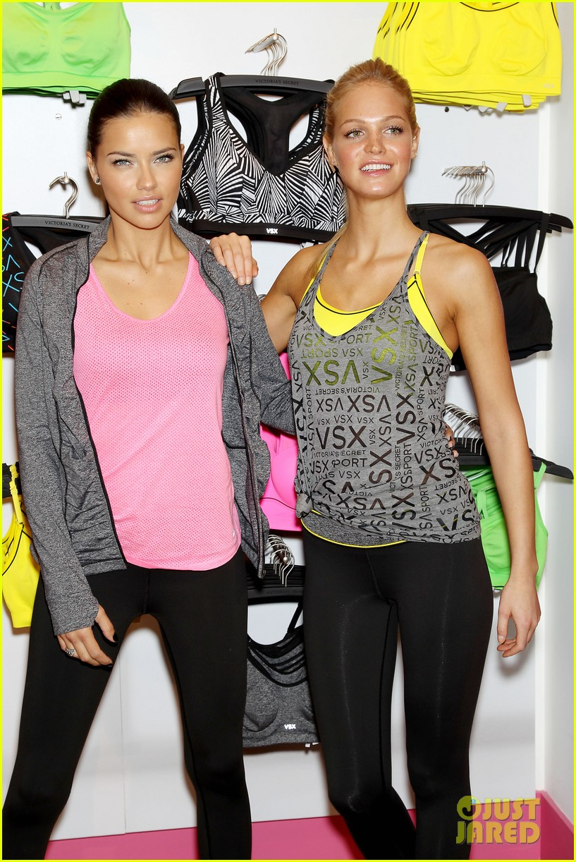 erin heatherton adriana lima victorias secret sport healthy year launch 30