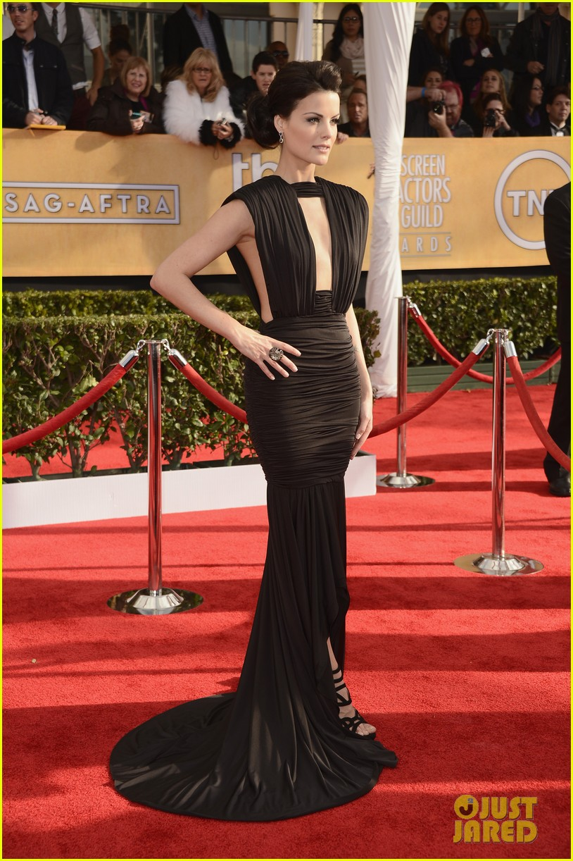 Jaimie alexander peter facinelli sag awards 2013 red carpet