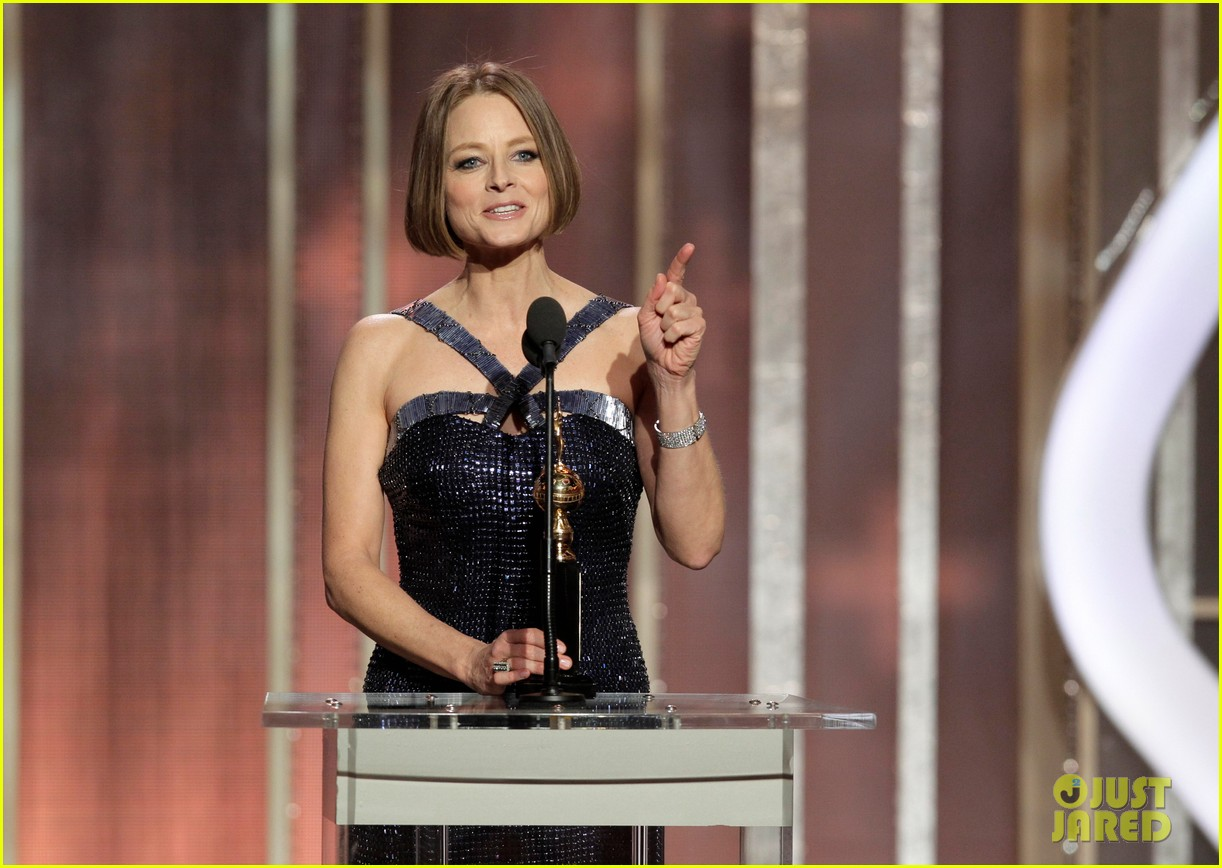 jodie foster coming out speech at golden globes 10