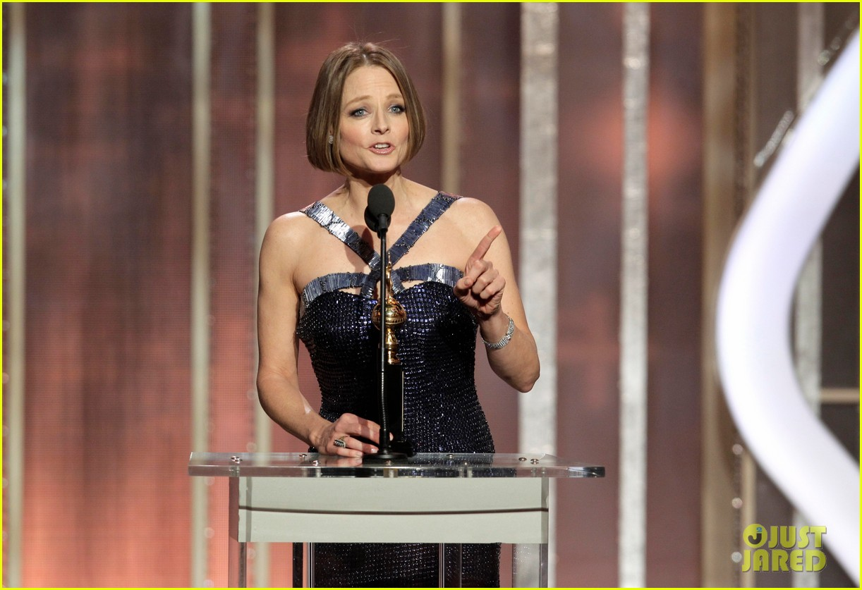 jodie foster coming out speech at golden globes 12