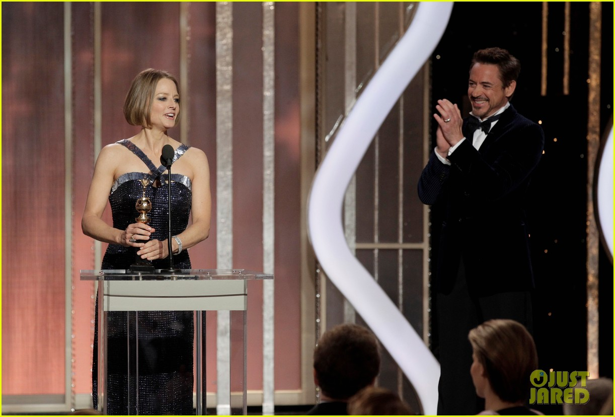jodie foster coming out speech at golden globes 142791855