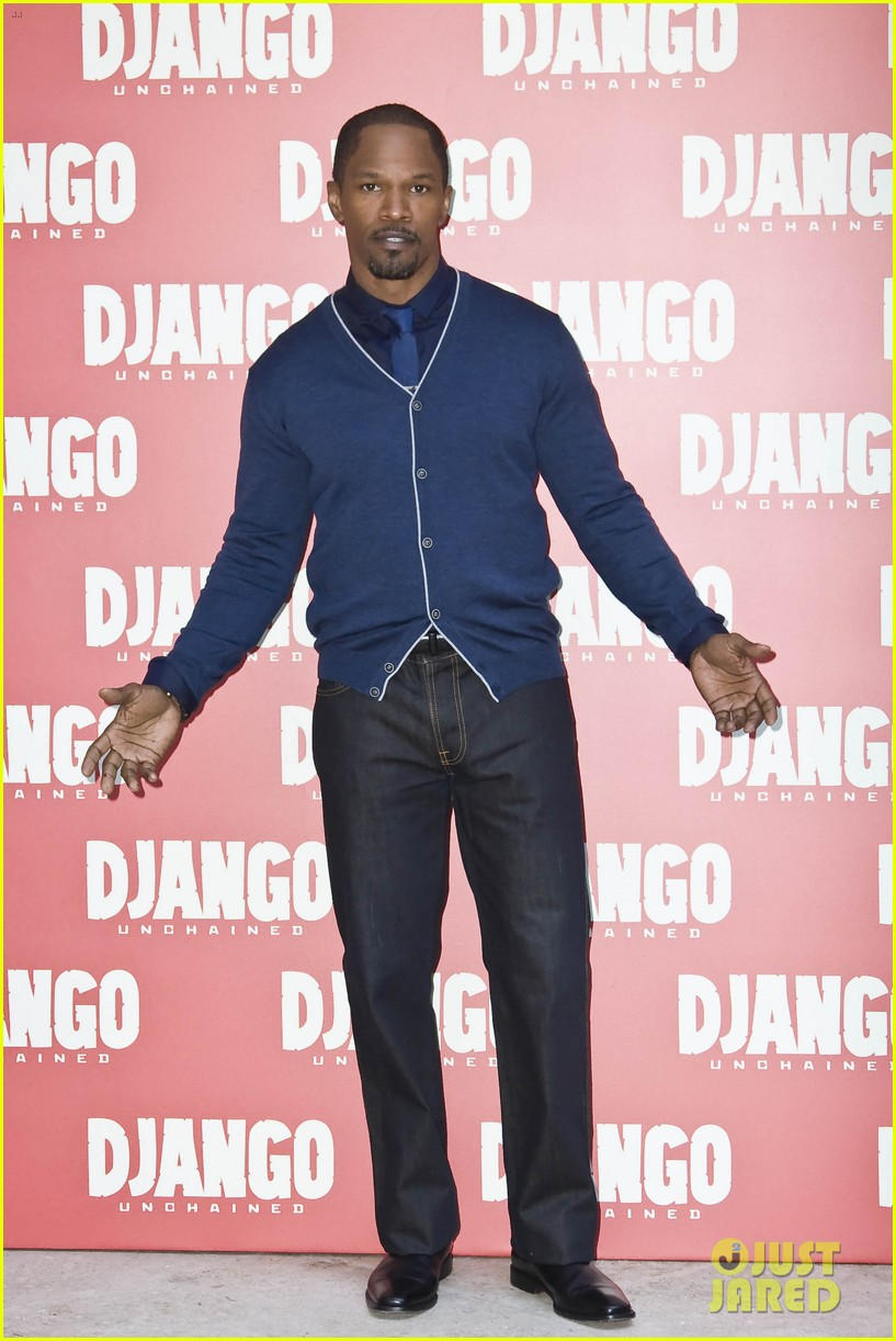 jamie foxx kerry washington django unchained rome photo call 02