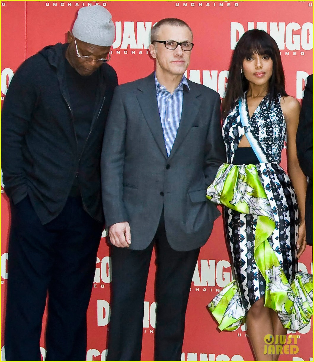 jamie foxx kerry washington django unchained rome photo call 04