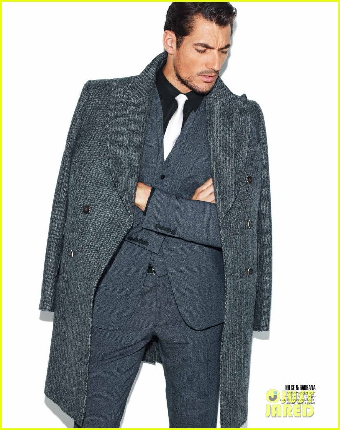 david gandy covers 7 hollywood icons issue 04.