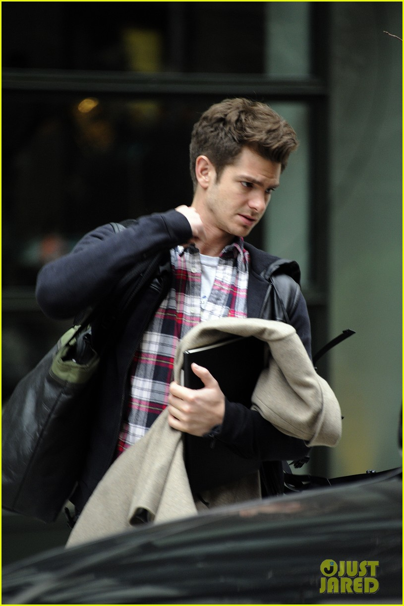 andrew garfield instant chemistry with emma stone 022790663