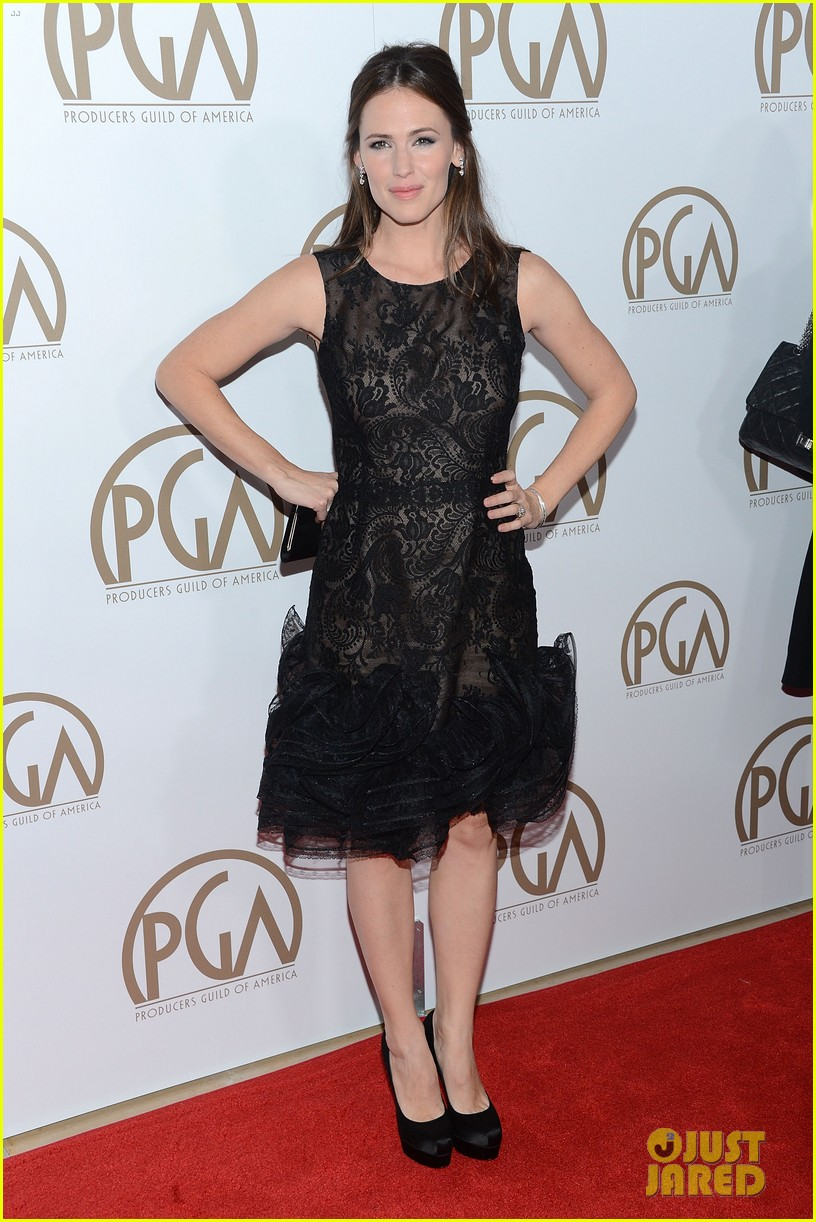 jennifer garner ben affleck pgas carpet 10