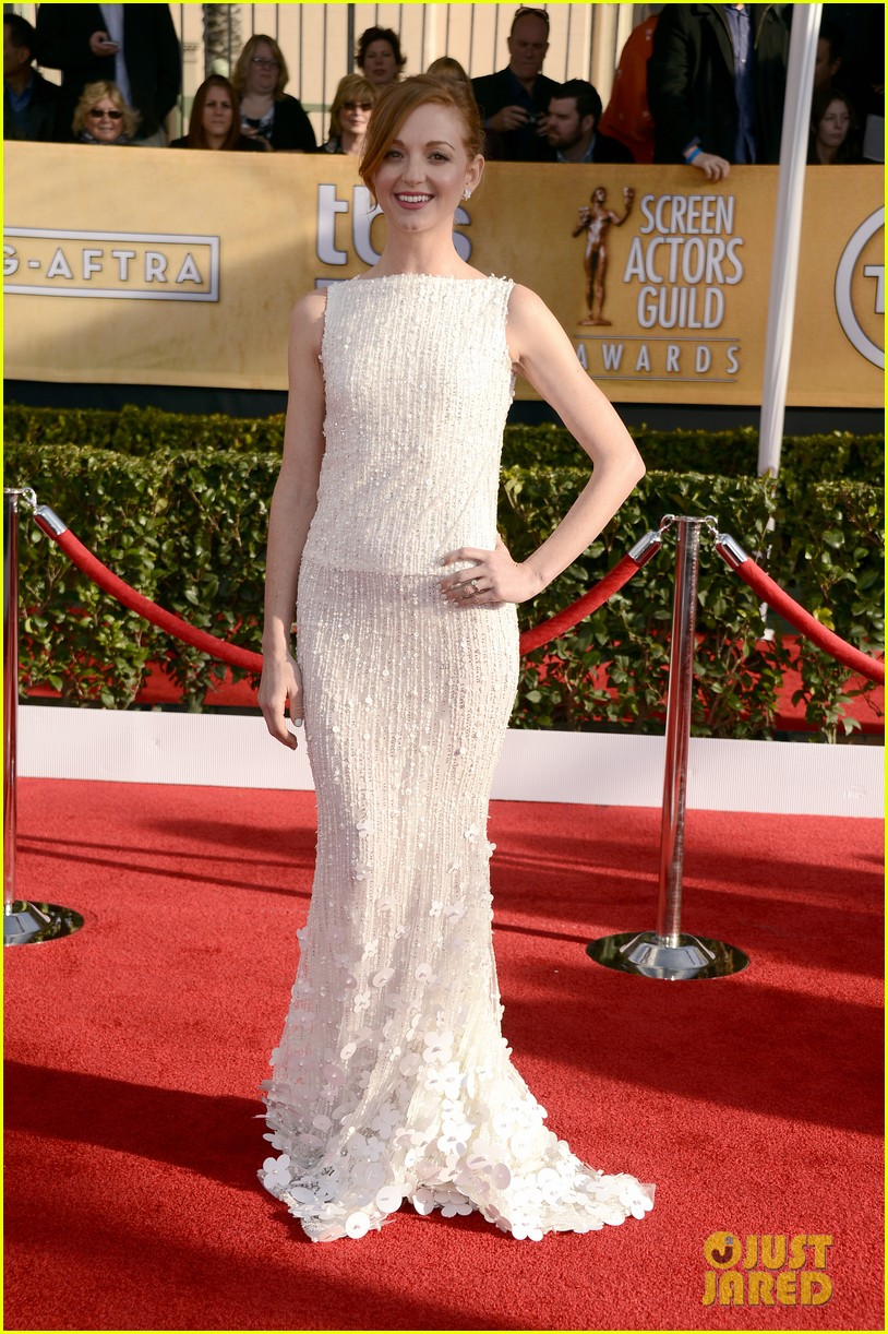 naya rivera jayma mays sag awards carpet 012799830