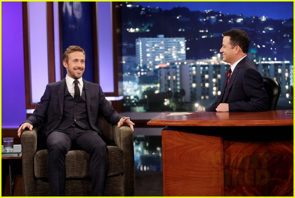ryan gosling will ferrell knife guys for jimmy kimmel live 05