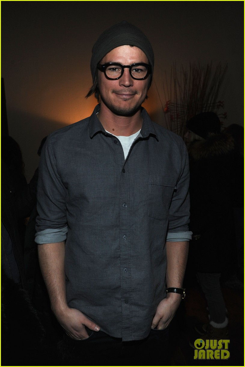 josh hartnett back from sundance 05