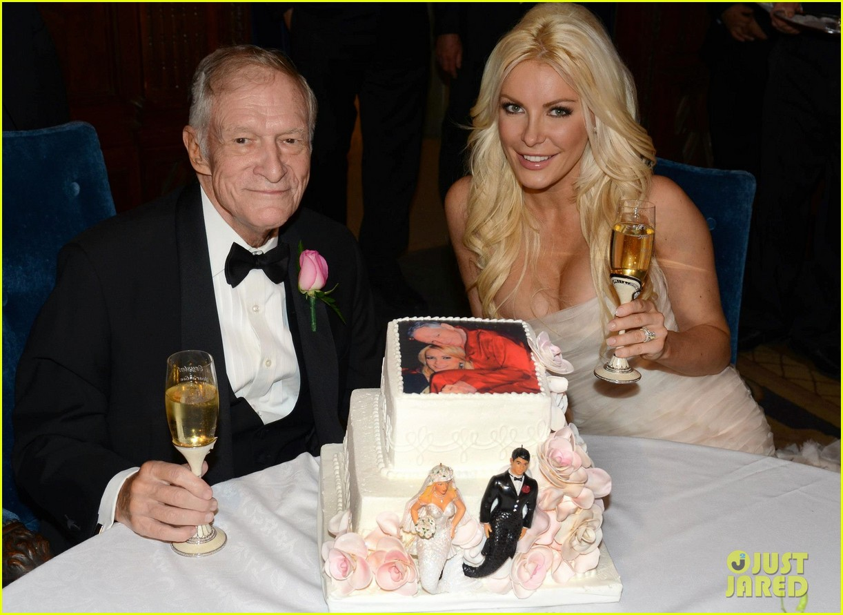 hugh hefner crystal harris wedding pictures, crystal hefner, crystal harris