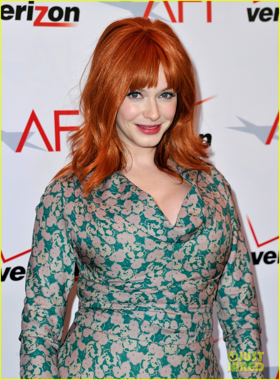 christina hendricks jessica pare afi awards 2013 02