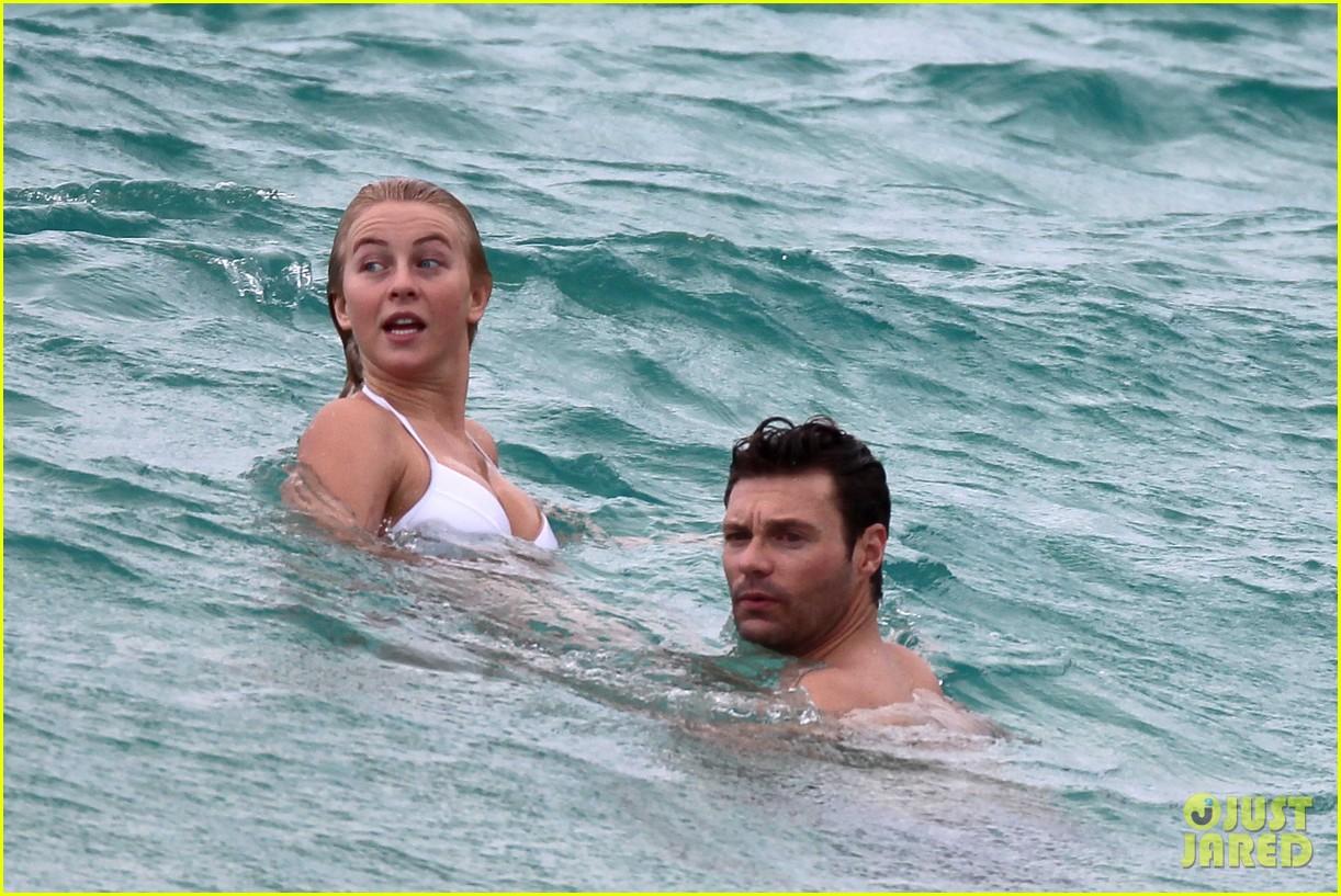 julianne hough bikini swimming with shirtless ryan seacrest 262784755