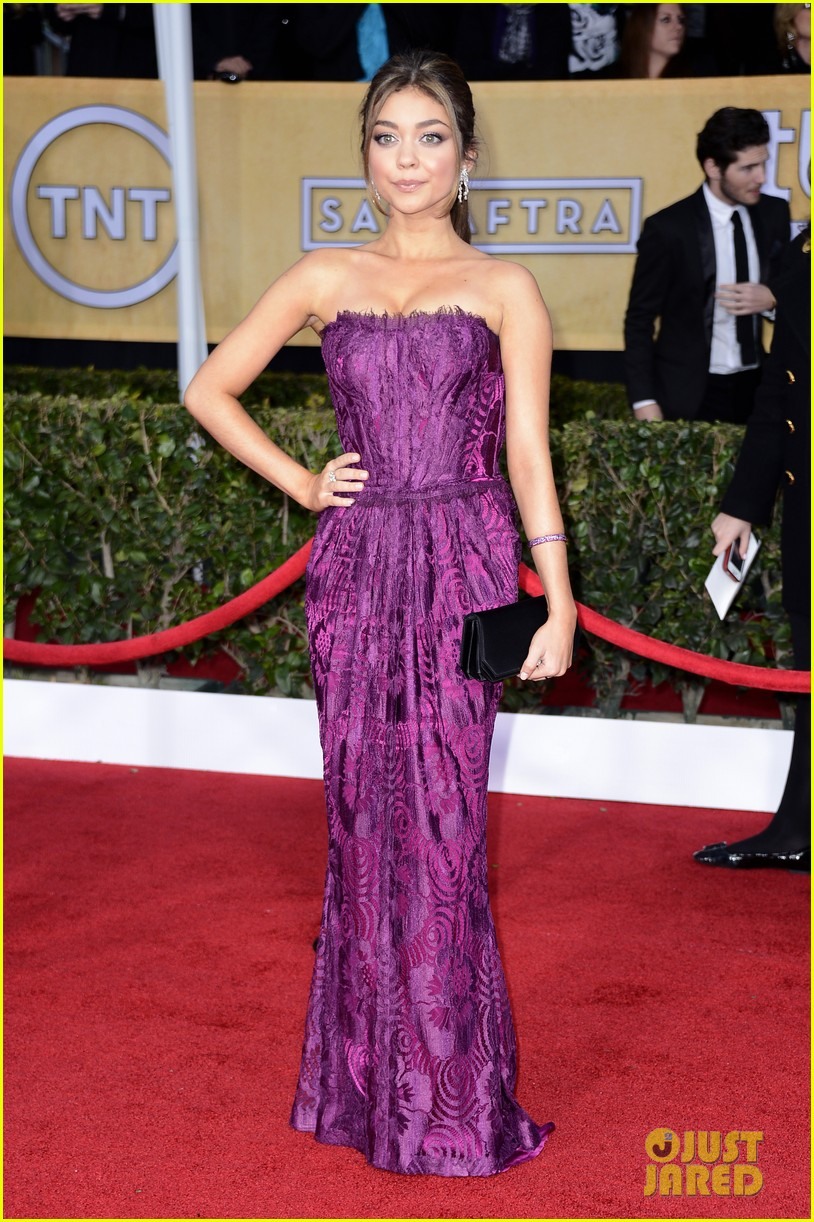 sarah hyland jesse tyler ferguson sag awards 08