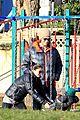 jared padalecki genevieve cortese park playdate with thomas 13