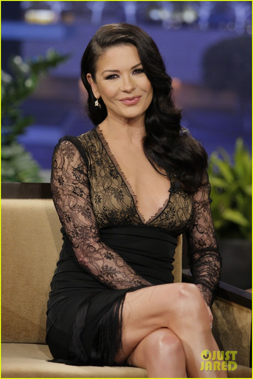 catherine zeta jones tonight show with jay leno visit 03