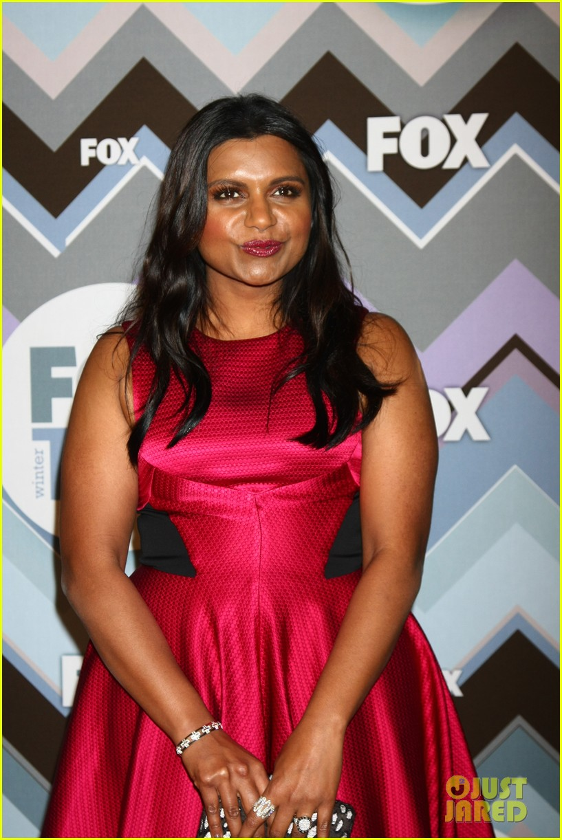 mindy kaling zooey deschanel fox tca all star party 19