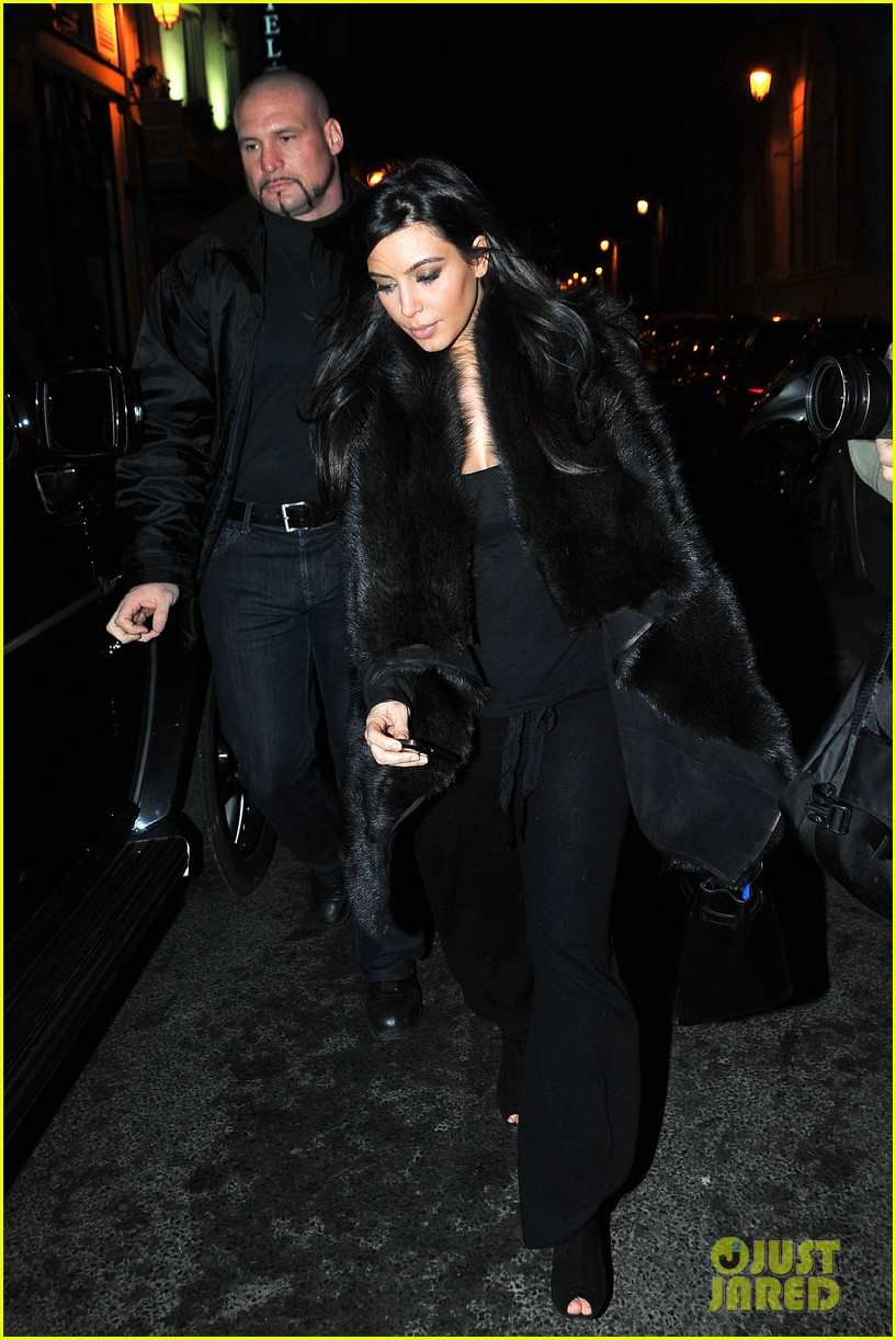 kim kardashian heads to dinner kanye west is super cold 14