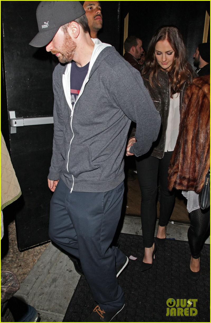minka kelly chris evans bootsy bellows couple 012790739