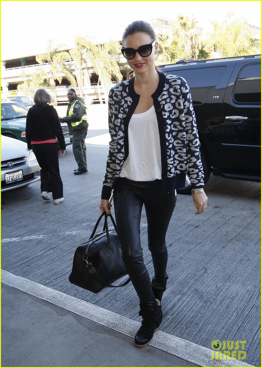 miranda kerr fashionable airport arrival 102792847