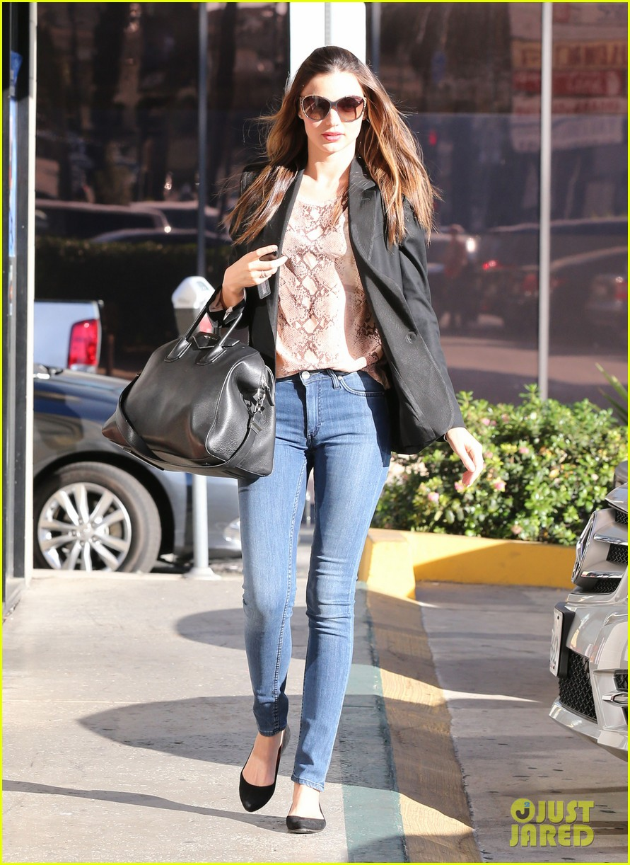 miranda kerr gets pampered orlando bloom goes for a ride 15